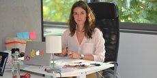 La créatrice clermontoise Alice Durupt dessine aujourd'hui à plus de la moitié des modèles à partir des tissus qu'elle récupère.