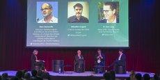 Sébastien Cognat (OMS Lyon), Marc Bonneville (Institut Mérieux), ainsi que le Dr Jean Lang (Sanofi) ont débattu des différentes stratégies de l'approche vaccinale pour lutter contre la Covid-19. Avec la nécessité de ne pas mettre en danger la chaîne des autres vaccins.