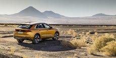 Ces véhicules offrent également un bon système d'urgence d'évitement des collisions, note le cabinet à l'origine de l'étude (en photo : Audi Q8).