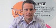 Marc Bessoles, nouveau directeur délégué Occitanie du pôle Eurobiomed.