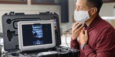 La valise de téléconsultation médicale est destinée aux usages nomades dans les plantations de café au Honduras.