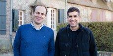 Martin Ducroquet et Michael Bruniaux, fondateurs de Sencrop