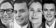 Au-delà de l'enjeu social, favoriser l'égalité des chances en entreprise permet à ter me d'être plus attractif, de fidéliser et de retenir des talents indispensables à la prospérité de tous (de gauche à droite : Armelle Carminati, présidente du comité entreprise inclusive au MEDEF, Aziz Senni, coprésident de la commission Nouvelles responsabilités entrepreneuriales au MEDEF, Anne-Laure Thomas, coprésidente de l'AFMD et Johan Titren, coprésident de l'AFMD)