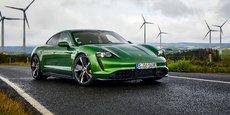 Porsche taycan, première voiture 100% électrique de la marque sportive de luxe allemande