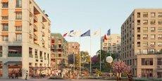 Le Village des médias, à Dugny en région parisienne, est un projet immobilier ayant vocation à accueillir dans un premier temps les médiats du monde entier dans le cadre des Jeux Olympiques Paris 2024, avant d'être transformé en ensemble de logements et commerces.