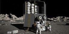 Pour le retour de l'Homme sur la Lune en 2024, l'Europe se met bien sûr dans les pas des Américains, qui ont lancé dans le cadre d'une coopération internationale (Etats-Unis, Europe, Japon et Canada) le programme Artemis
