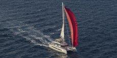 Un des grands modèles de catamarans produits par Fountaine Pajot en service dans une société charter.
