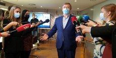 LITUANIE: L'OPPOSITION DE CENTRE-DROIT REVENDIQUE LA VICTOIRE AUX LÉGISLATIVES