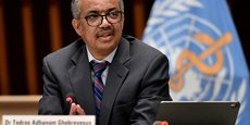 Tedros Adhanom Ghebreyesus, directeur de l'Organisation mondiale de la Santé, le 22 octobre 2020.