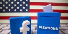 Les réseaux sociaux Facebook et Twitter se sont préparés à des scénarios catastrophes depuis cet été, alors qu'ils ont largement été accusés en 2016 d'être des plateformes de désinformation massive.