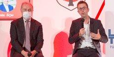 Invités par La Tribune, Jean-Luc Moudenc et l'économiste Nicolas Bouzou ont échangé pendant une trentaine de minutes autour du plan de relance, de l'aéronautique et de la 5G notamment.