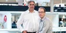 Jean-Charles Faugere et Ludovic Perret, co-fondateurs de CryptoNext Security.