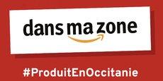 Au lieu d'acheter sur Amazon, Carole Delga, la présidente du conseil régional d'Occitanie appelle à acheter Dans ma zone afin de soutenir les commerces de proximité.