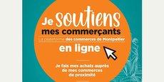 Jesoutiensmescommercants.montpellier.fr est une plateforme en ligne vitrine pour les commerçants de proximité montpelliérains qui ont développé une activité de click & collect.