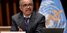 Tedros Adhanom Ghebreyesus, directeur général de l'Organisation mondiale de la santé (OMS).