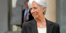 Nous ne pouvons pas simplement dire que la situation est trop délicate pour pouvoir donner de l'argent maintenant, estime Christine Lagarde. (Photo : Reuters)