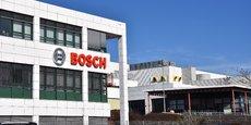 Pour combien de temps encore le logo Bosch décorera ce bâtiment dans la banlieue de Rodez ?