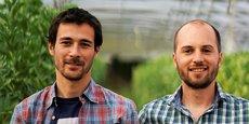 Romaric Bourles et Clément Nauton, les deux fondateurs de Robin des bio.