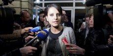 Najat Vallaud-Belkacem, ministre des Droits des femmes et porte-parole du gouvernement. / Reuters