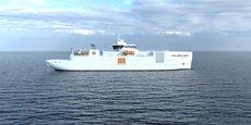 Ce navire sera construit au Sri Lanka, au chantier naval de Colombo Dockyard.