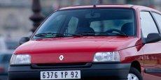 Une Renault Clio de première génération