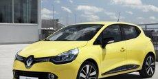 Renault Clio IV, la  voiture la plus vendue en France.