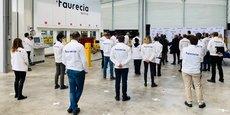 Faurecia formera ses propres collaborateurs à partir de 2021.