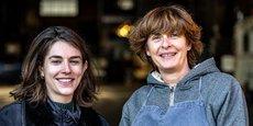 Elise Thorel et Sandrine Clément portent le projet Marie Curry, l'un des quatre lauréats de l'édition 2020 des prix de l'ESS.
