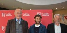 Alain Rousset, Julien Duboué et Jean-Pierre Raynaud