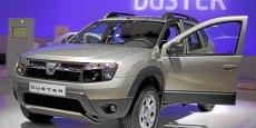 Le 4x4 Dacia duster, la voiture la plus vendue du groupe Renault dans le monde