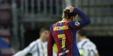 Antoine Griezmann, sous les couleurs du FC Barcelone.