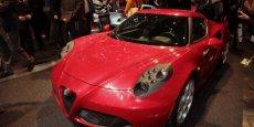 L'Alfa Romeo 4C doit être produite en série très limitée (3.500 unités annuelles)