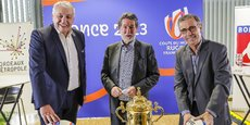 Claude Atcher, Alain Anziani et Pierre Hurmic