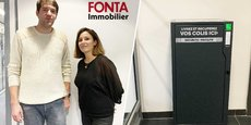 Boks et Fonta se sont associés pour proposer des consignes sécurisées dans plusieurs résidences toulousaines.