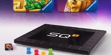 La console SquareOne de Wizama est composée d'un plateau dont la surface forme un grand écran tactile avec des bordures mobiles et des haut-parleurs audio pour une immersion totale.