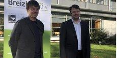 Nicolas Hulot et Loïg Chesnais-Girard ont lancé la fondation Breizh Biodiv mardi 15 décembre à Rennes.