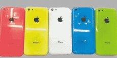 Le dernier modèle 5C avait pris de la couleur. Apple donnera-t-il à son prochain iPhone des formes un peu plus arrondies?