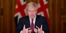 Boris Johnson, Premier ministre du Royaume-Uni.