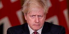 Boris Johnson, samedi 19 décembre, lors de son allocution depuis le 10 Downing Street sur l'aggravation de la situation sanitaire au Royaume-Uni avec l'apparition d'une nouvelle souche du virus Covid-19, beaucoup plus virulente que la précédente.