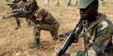 Des membres des forces armées nigériennes.