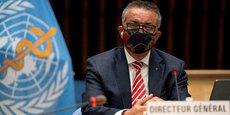 Tedros Adhanom Ghebreyesus, directeur général de l'Organisation mondiale de la santé (OMS), lors d'une réunion du Conseil exécutif de l'OMS à Genève (Suisse), le 5 octobre 2020.
