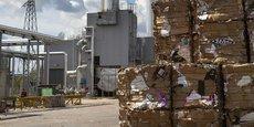 La fabrication de papier, uniquement recyclé, est passée de 140.000 à 210.000 tonnes chez Palm Descartes en 10 ans.