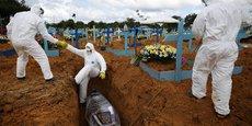 CORONAVIRUS: LE BILAN AU BRÉSIL APPROCHE LES 210.000 DÉCÈS