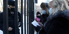 RUSSIE: ALEXEÏ NAVALNY MAINTENU EN DÉTENTION MALGRÉ LA PROTESTATION INTERNATIONALE