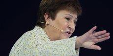 LES PRÉVISIONS DU FMI SOUMISES À UNE FORTE INCERTITUDE, DIT GEORGIEVA