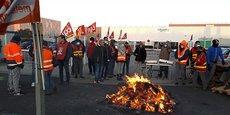Les salariés du site de Schneider Electric à Lattes sont en grève depuis le 14 janvier dernier.