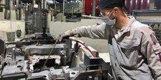 Les futurs diplômés de l'Eisine, école d'ingénieurs à Reims et Charleville-Mézières, se destinent à des carrières dans les matériaux, les procédés et la maintenance industrielle. Ici, un atelier de fonderie chez PSA à Charleville-Mézières.