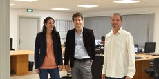 Caroline Rozain, Nicolas Bardi et Marc Potron ont créé Sylfen en 2015, une jeune pousse qui souhaite remettre les sujets de la  transition écologique des bâtiments  au coeur des enjeux de la filière hydrogène.