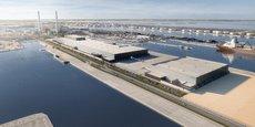 Au Havre, Siemens Gamesa se flatte de construire un outil unique au monde avec sur un même site la fabrication de pales, de turbines et un port d'installation des éoliennes en mer.