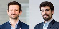 François Albenque, directeur du développement et des services de Cdiscount, et Thomas Metivier, directeur de la marketplace, de l'international, de la stratégie et de l'innovation.